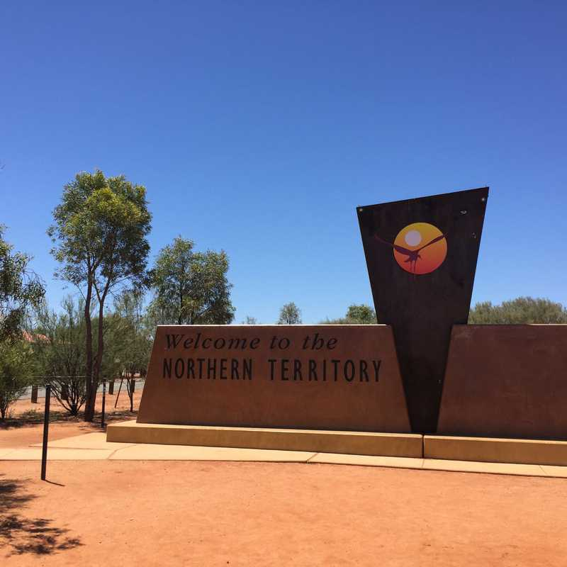 South Australia - Northern Territory Rest Area
