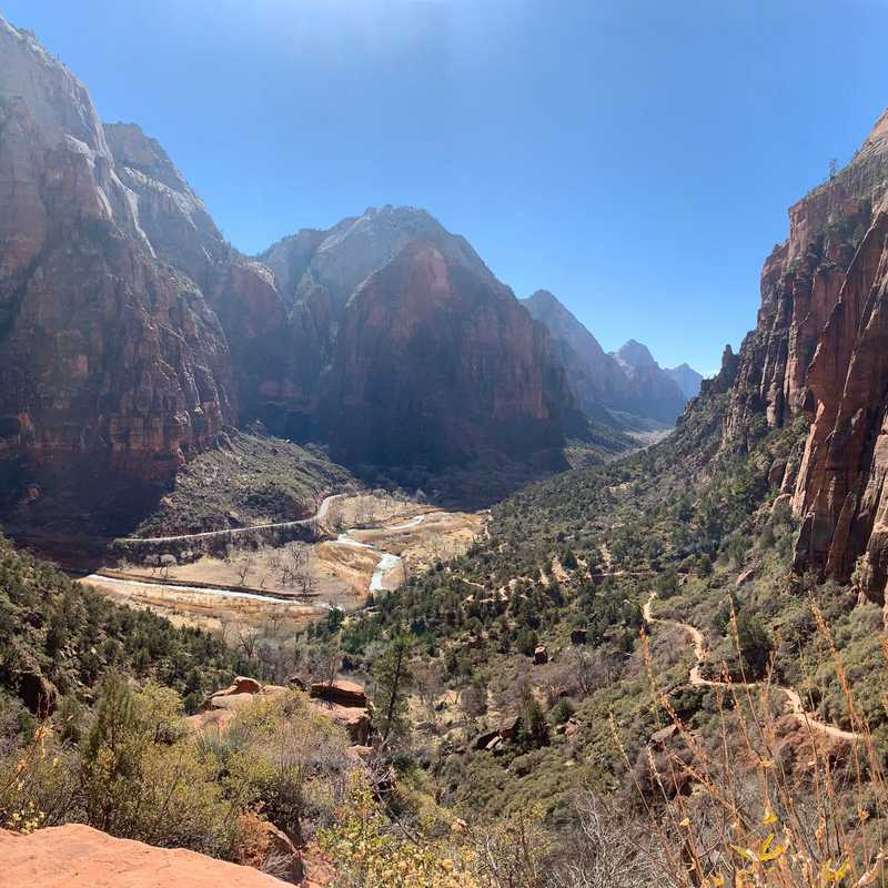 Trip Blog Post by @suttoncaj: Zion National Park 2021 | 3 days in Feb (itinerary, map & gallery)