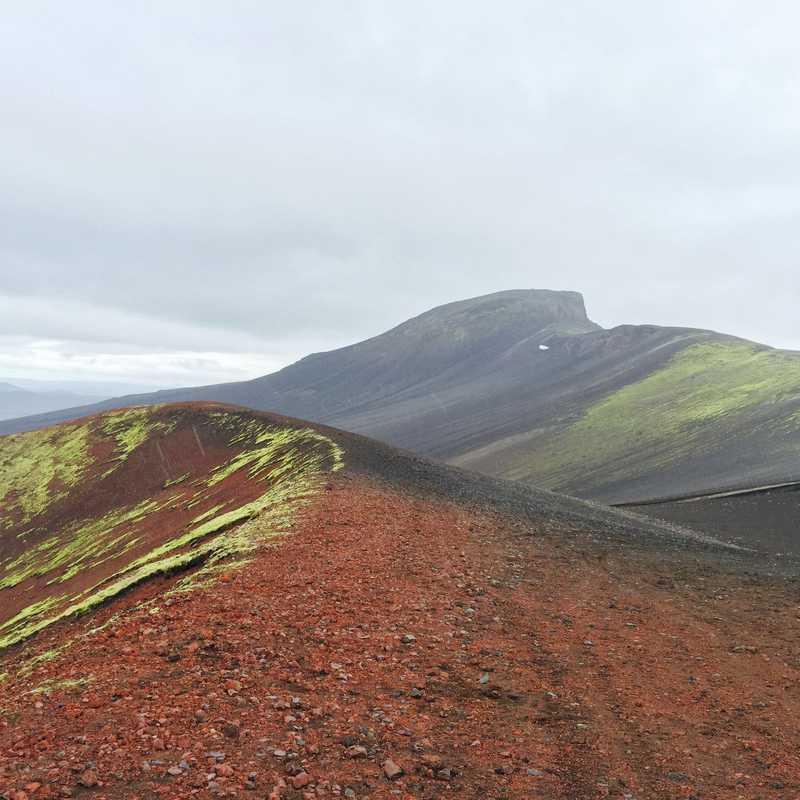Rauðaskál - volcano crater