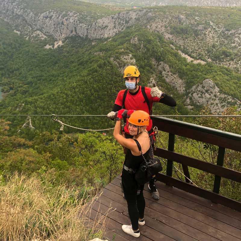 ZipLine Croatia Omiš