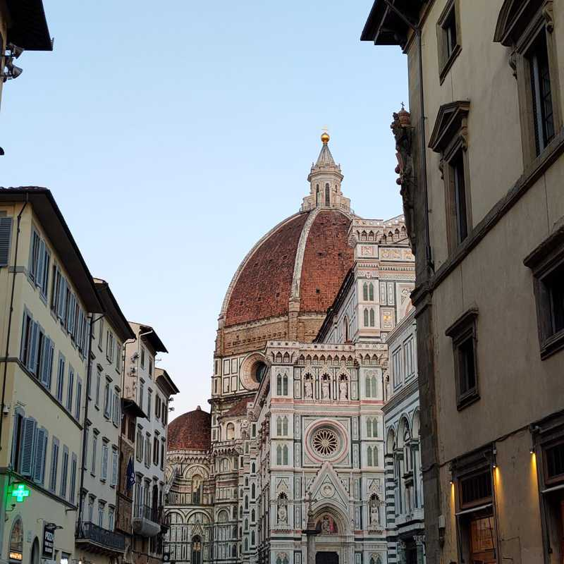 Trip Blog Post by @Loredana_travel: Florence 2021 | 1 day in Sep (itinerary, map & gallery)