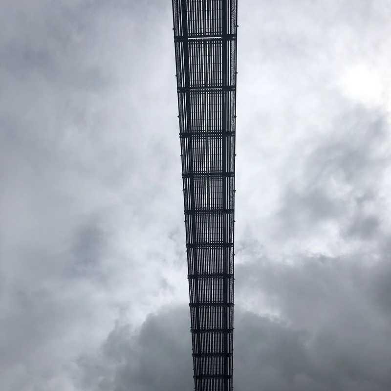 Jhinu Danda suspension bridge