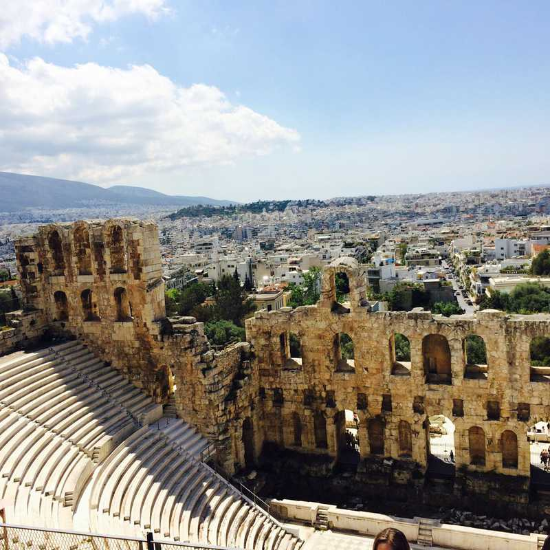 Trip Blog Post by @marylunasame24: Greece 2017 | 2 days in Apr (itinerary, map & gallery)