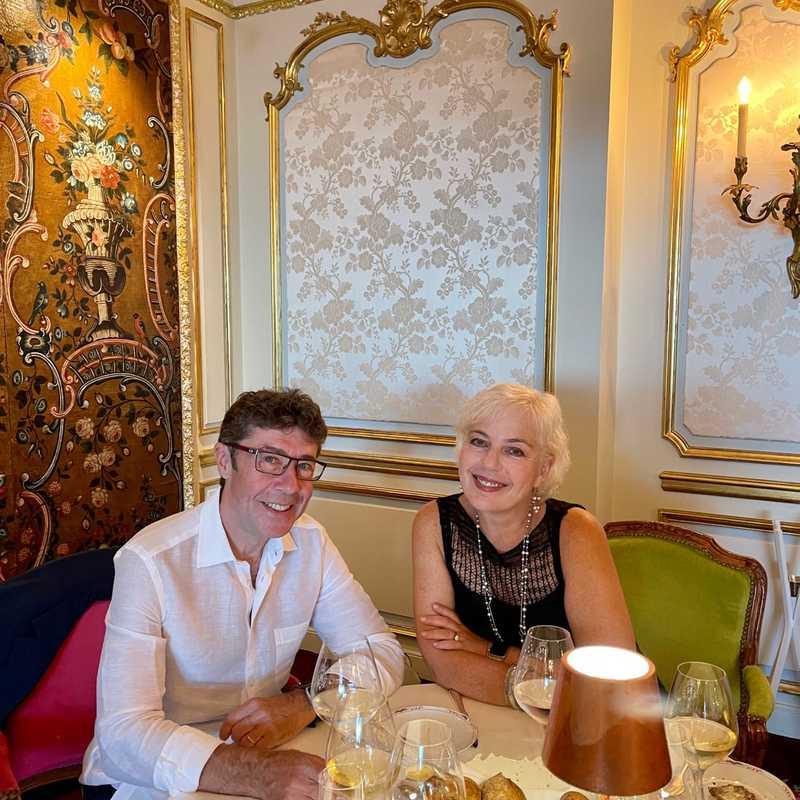 Birthday dinner at Le Chantecler, Negresco, Nice