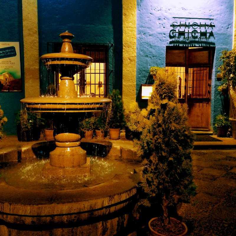 Dinner at Chicha Arequipa