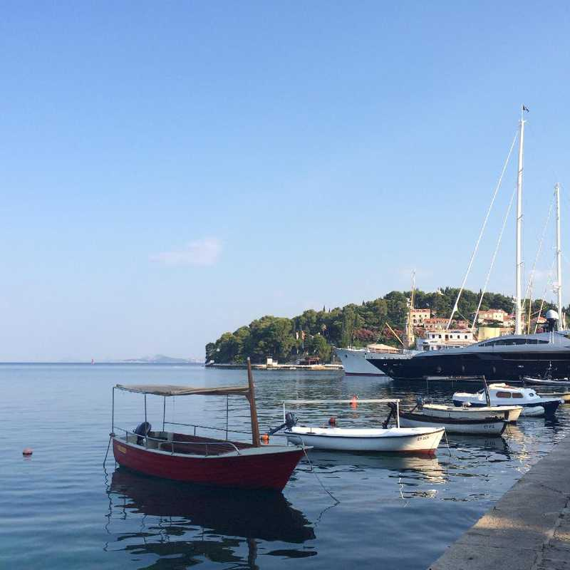 Morning Walk around Cavtat Harbour