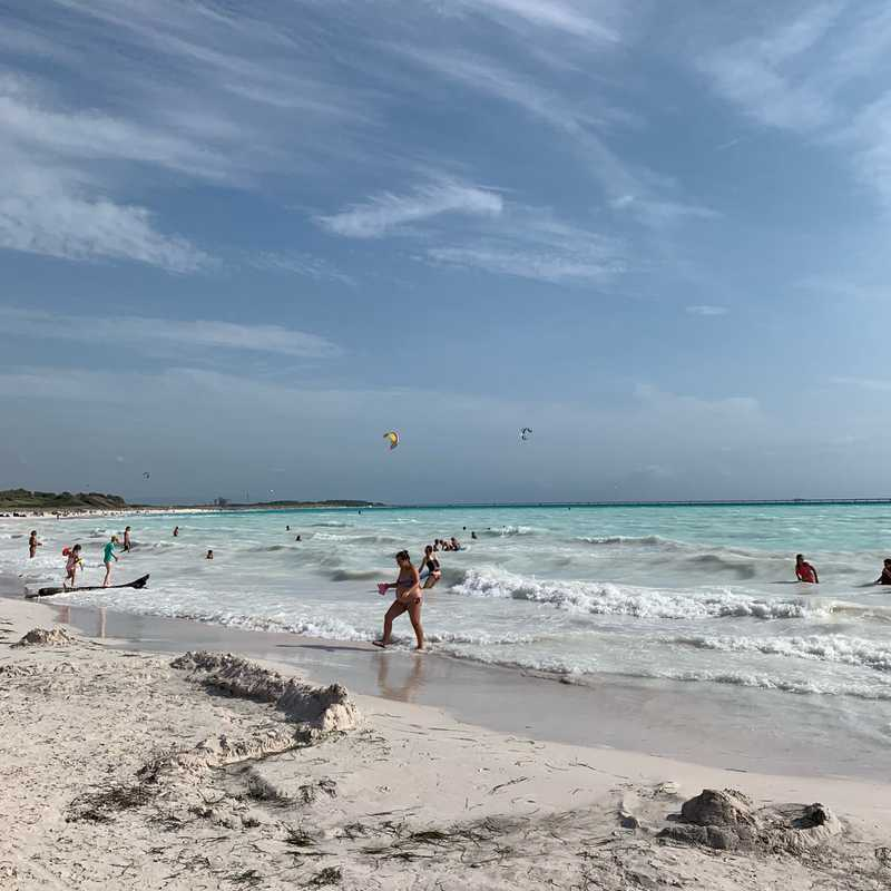 The White Beach Rosignano