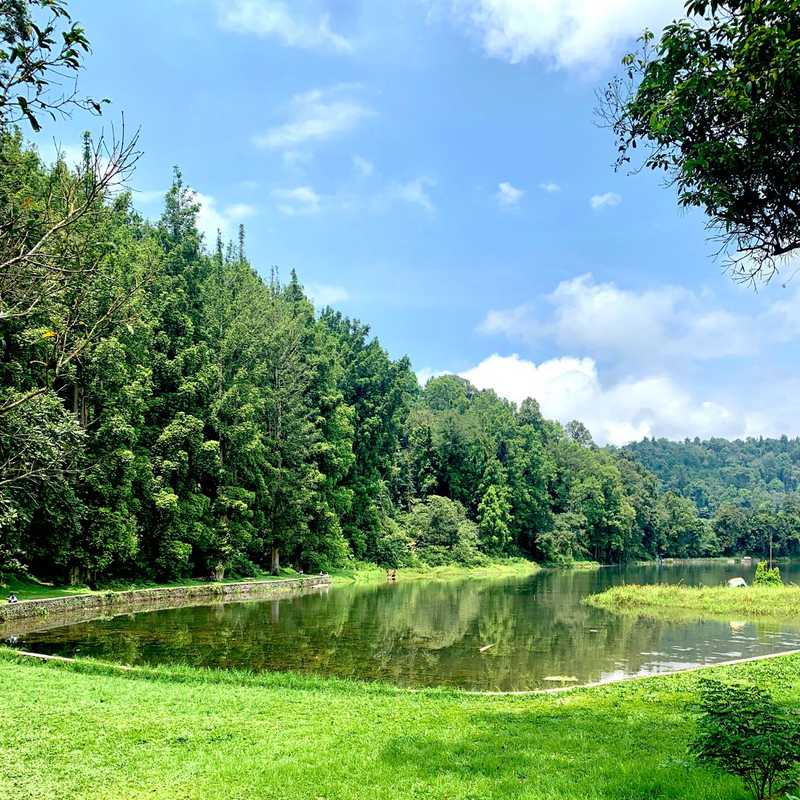 Danau Situ Gunung, Sukabumi, Jawa Barat, rno