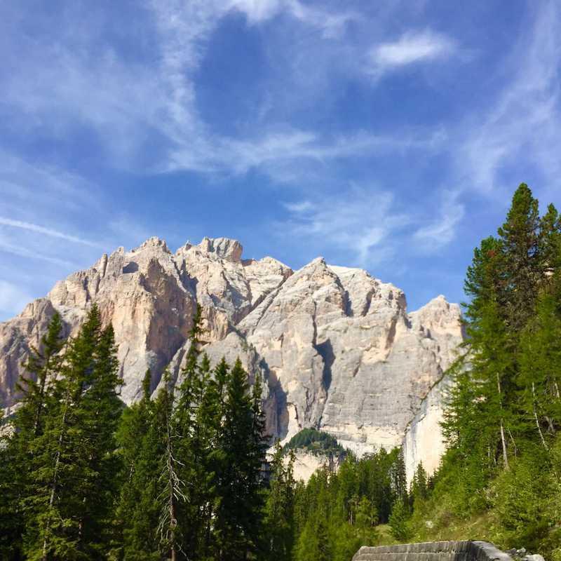 Dolomites UNESCO Info Point Zans