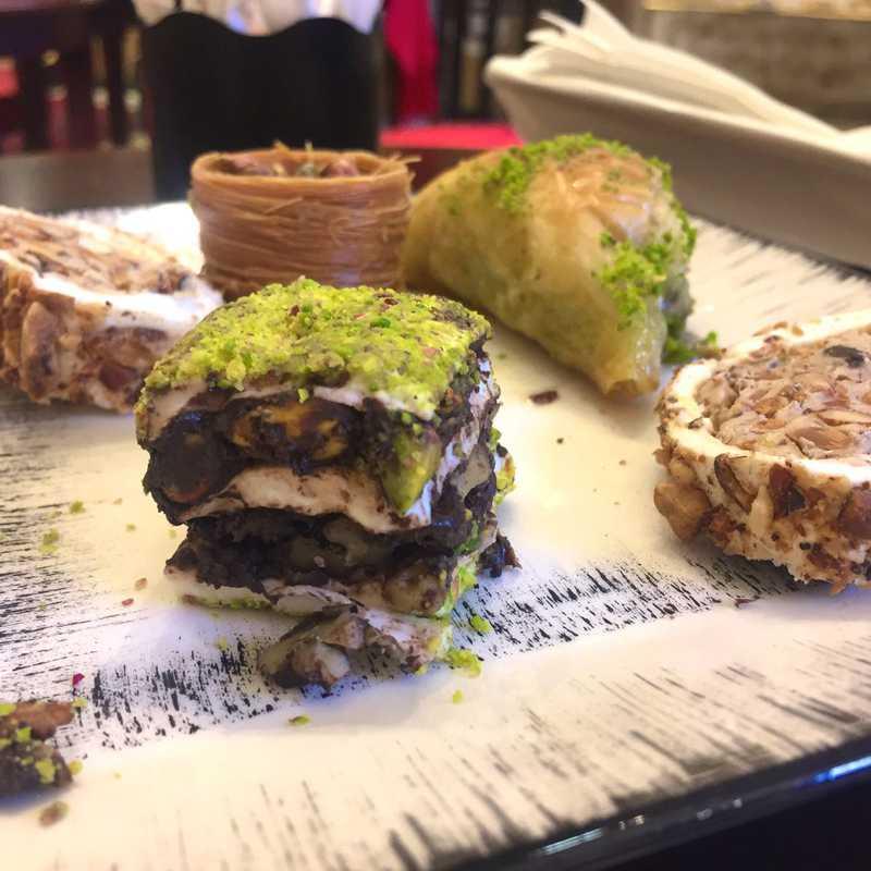Efezade restaurant cafe Turkish Delight