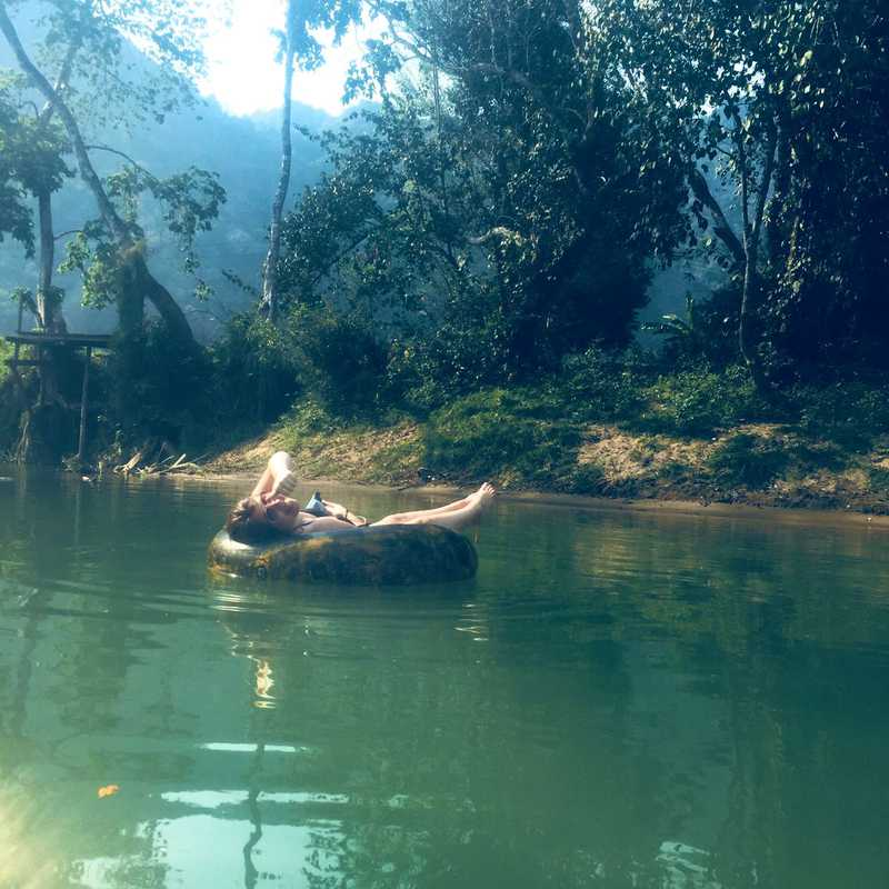 River tubing bar