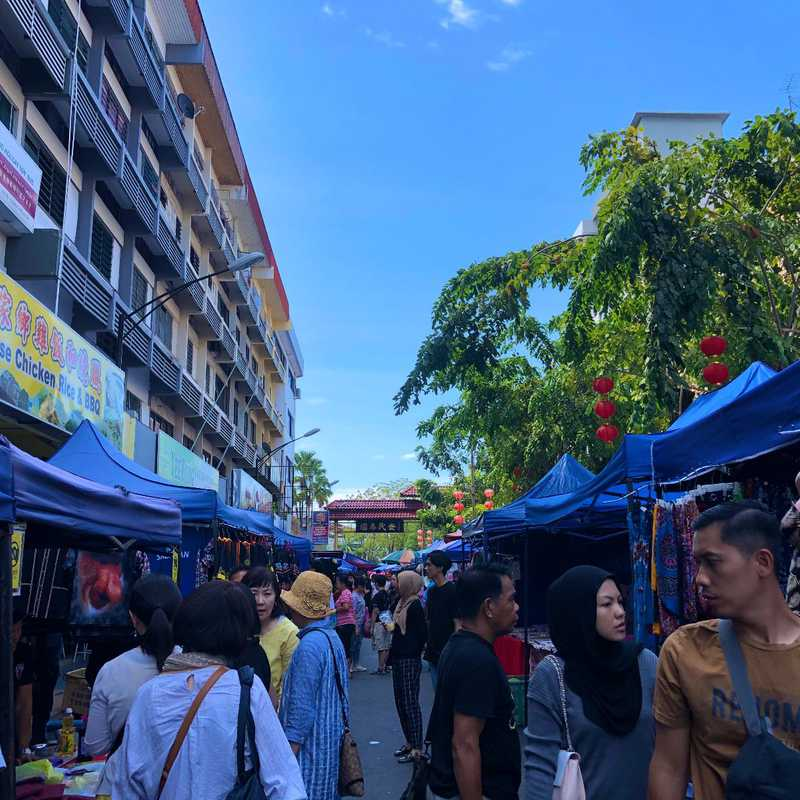 Gaya Street Sunday Market, Kota Kinabalu, Sabah.