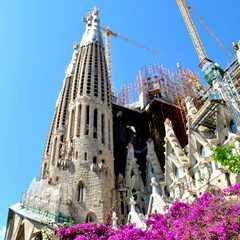 La Sagrada Familia / La Sagrada Família