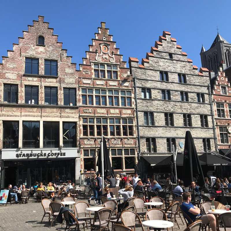 Korenmarkt Square, Ghent
