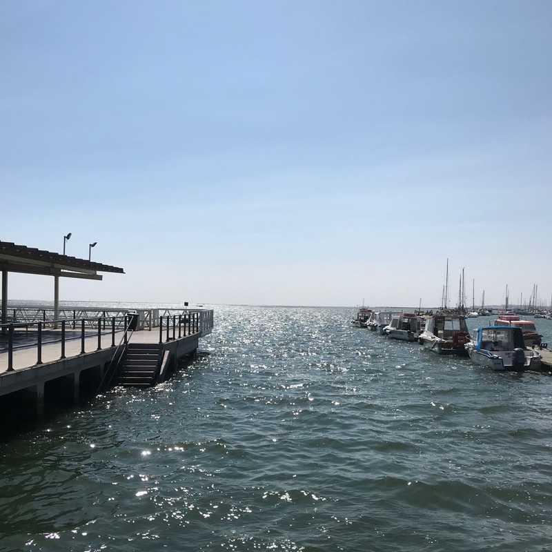 Cais de embarque de Olhão