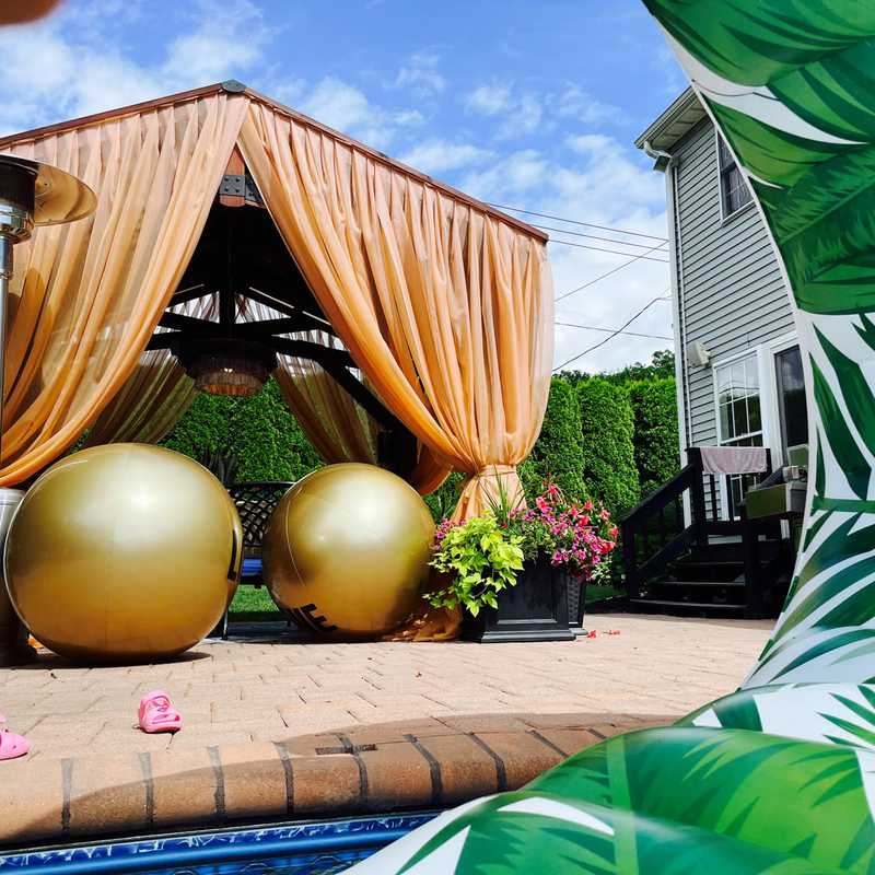 Pool @ Airbnb Coram Love House