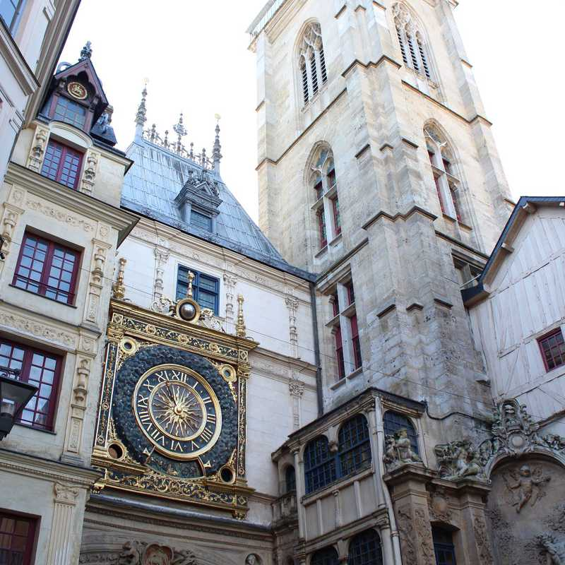 Rouen | 1 day trip itinerary, map & gallery