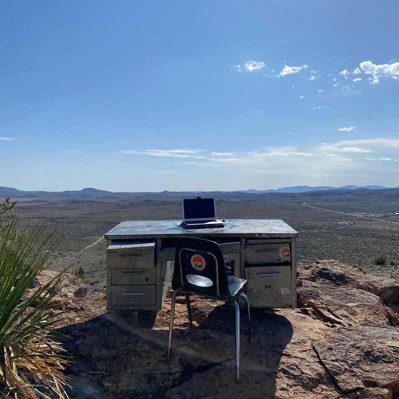 The Sul Ross Desk