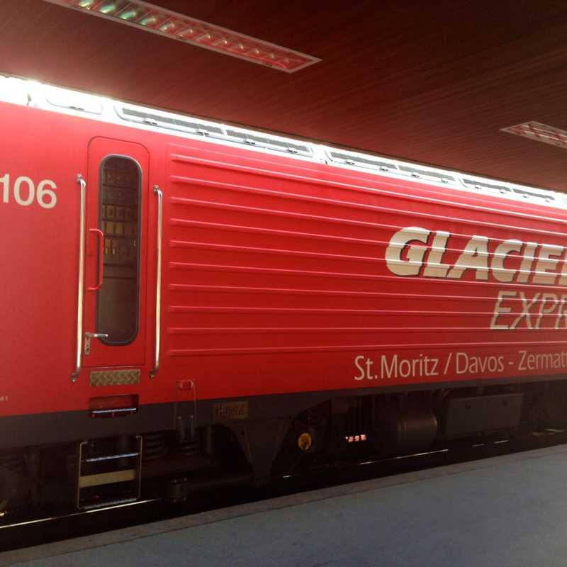 Glacier Express: Andermatt to Chur