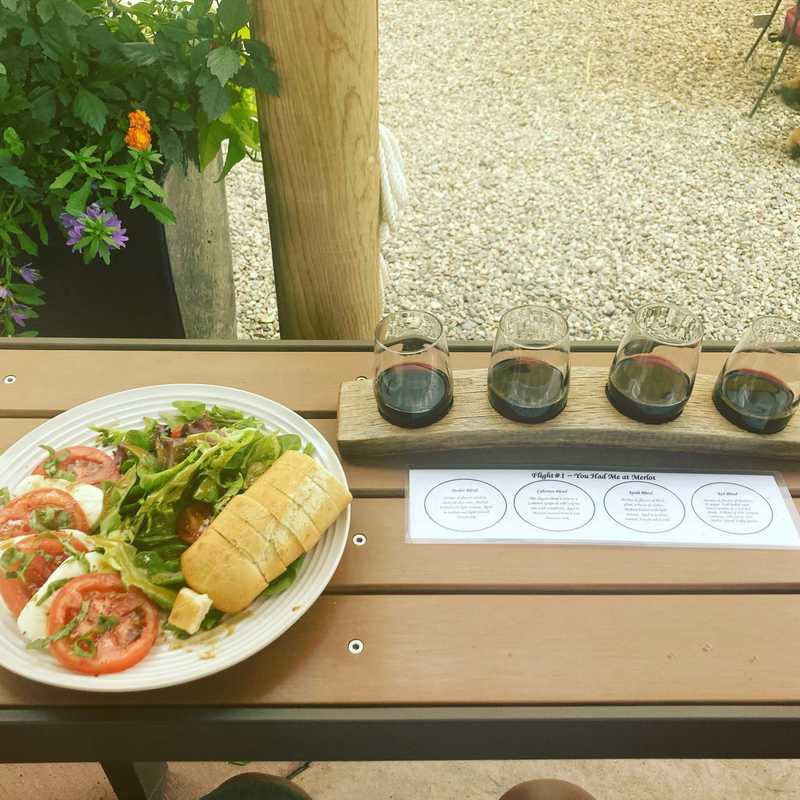 Maison La Belle Vie Winery & Amy's Courtyard