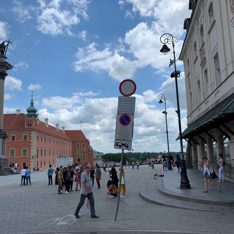 Stare Miasto - Plac Zamkowy, Warszawa