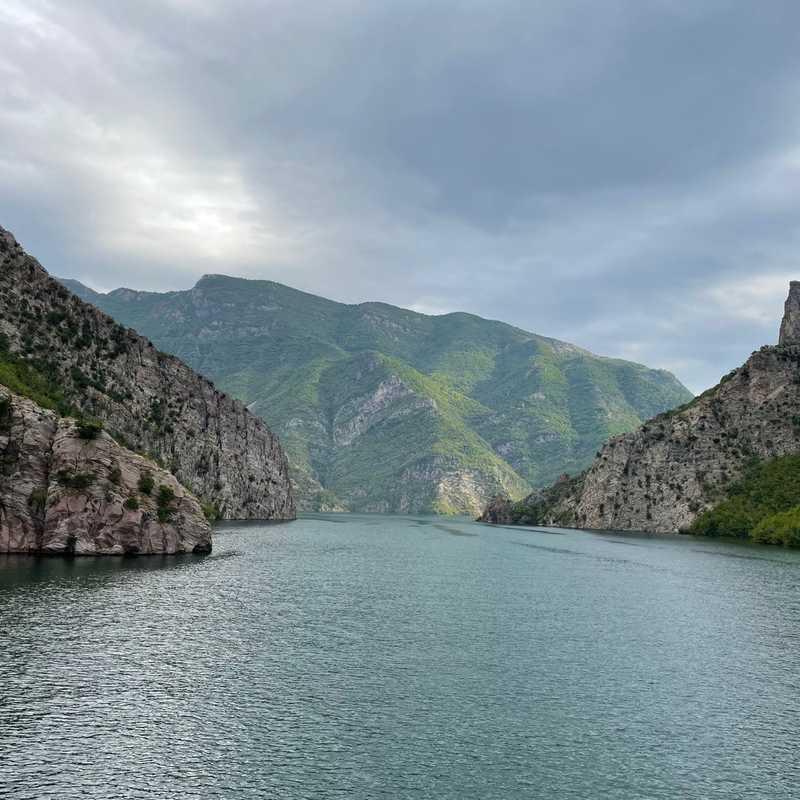Komani Lake Ferry
