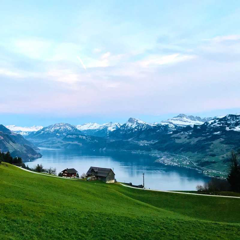 Switzerland 2020 | 2 days trip itinerary, map & gallery