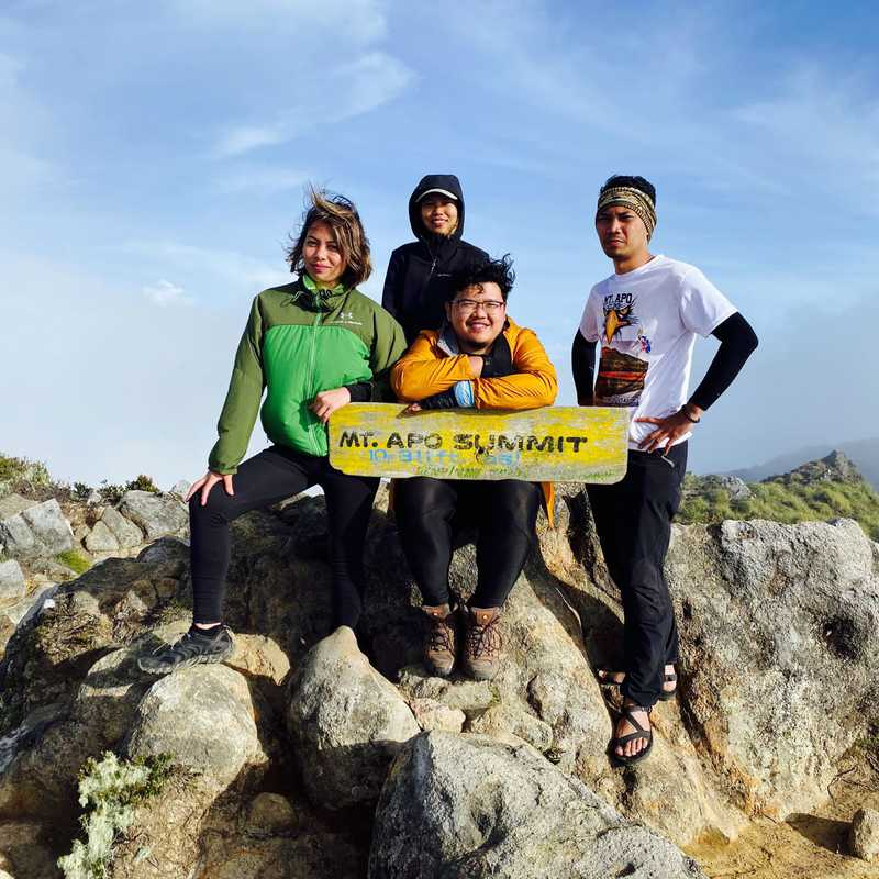 Mount Apo Summit Campsite