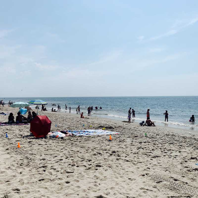 The People's Beach at Jacob Riis Park