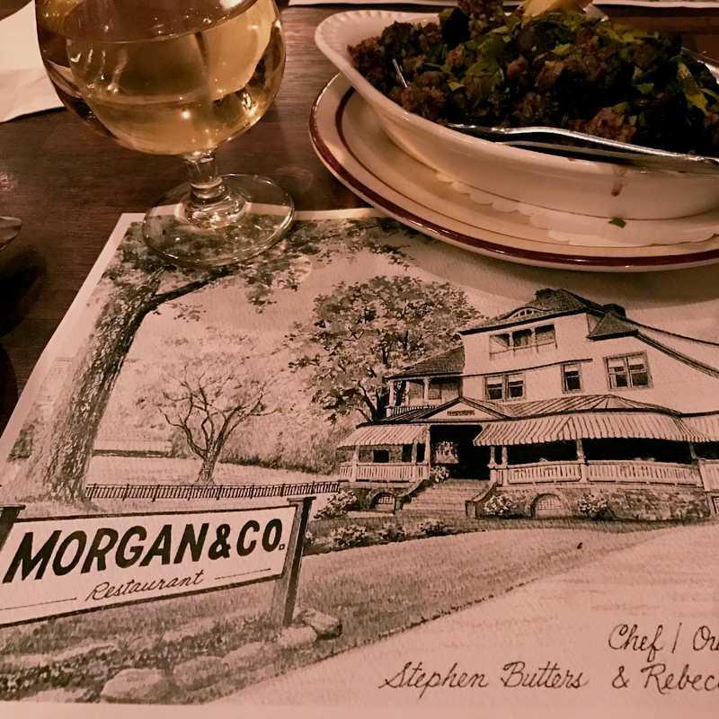 Dinner at Morgan & Co
