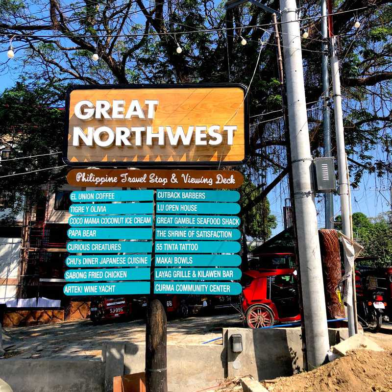 The Great Northwest Philippines Travel Stop & Viewing Deck