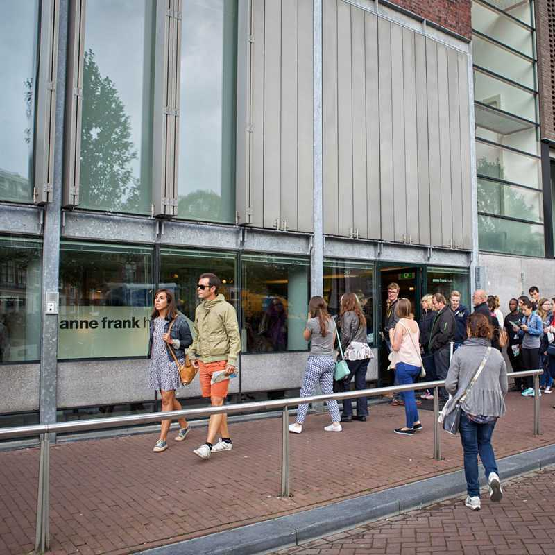 Place / Tourist Attraction: Anne Frank House (Amsterdam, Netherlands)