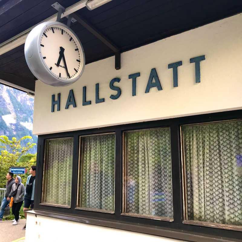 Hallstatt Bahnhof