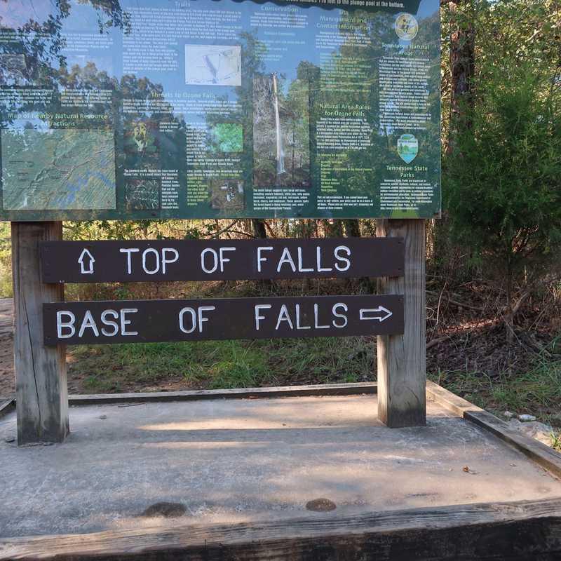 Ozone Falls State Natural Area