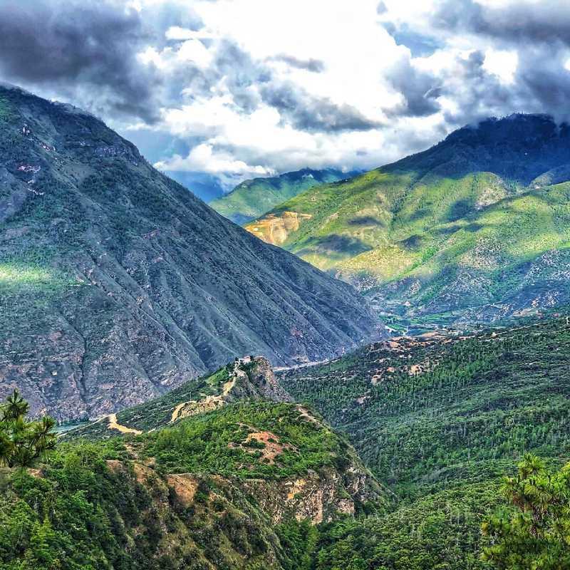 Trip Blog Post by @tashint98: Paro, Bhutan Jul-2021 | 1 day in Jul (itinerary, map & gallery)