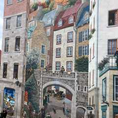 Quebec City Mural