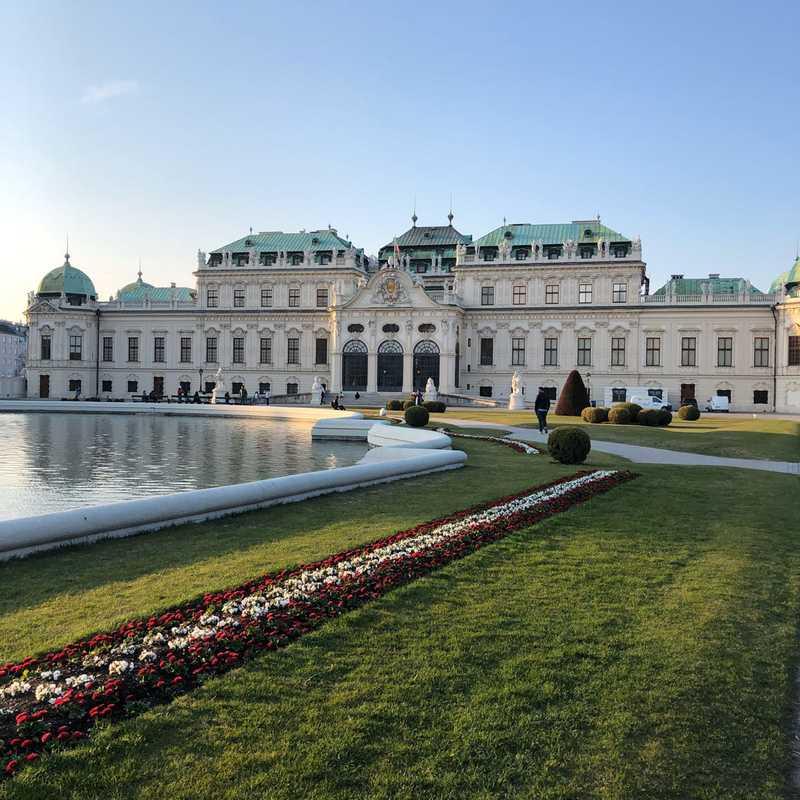 Place / Tourist Attraction: Belvedere Palace (Vienna, Austria)