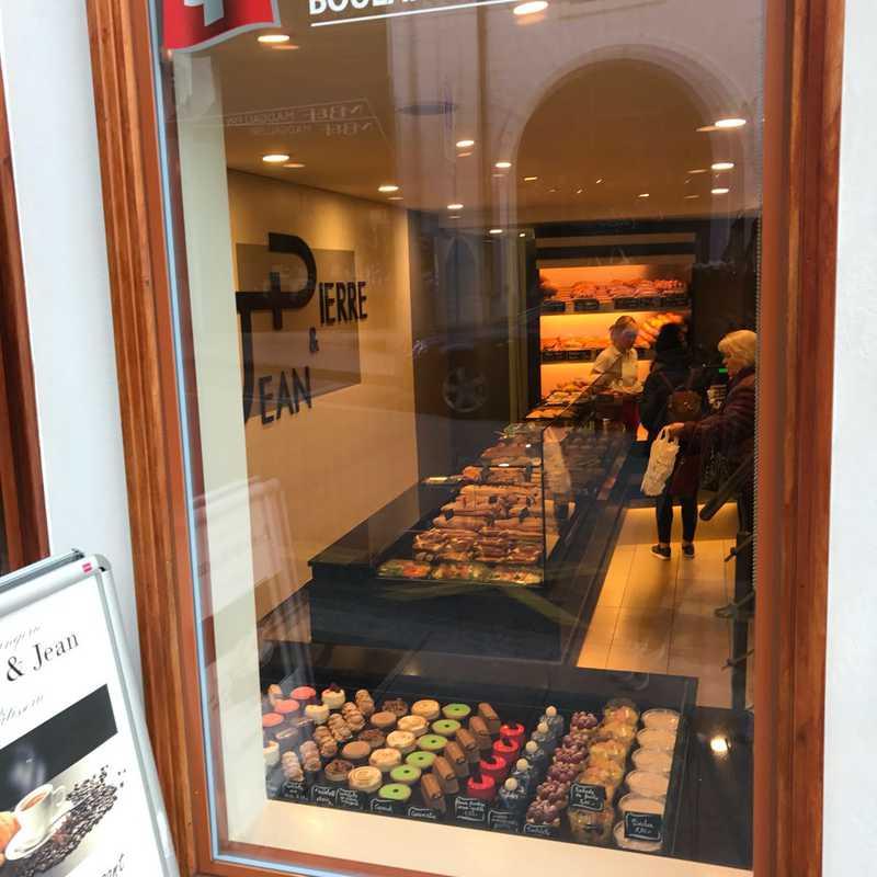 Breakfast at Jean-Pierre Bakery