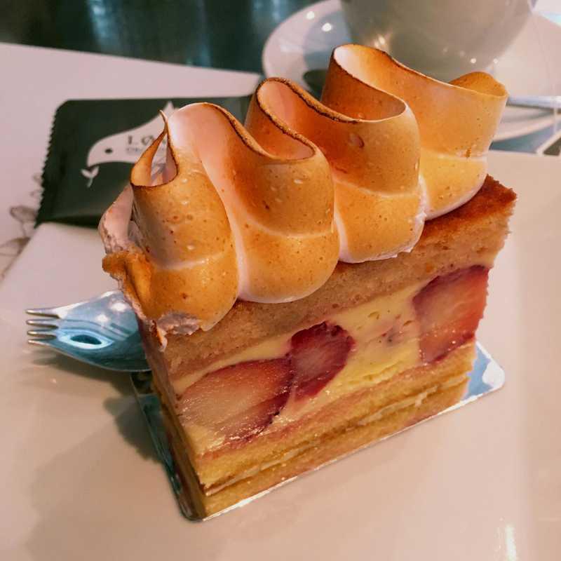 Dessert at Maison Christian Faure