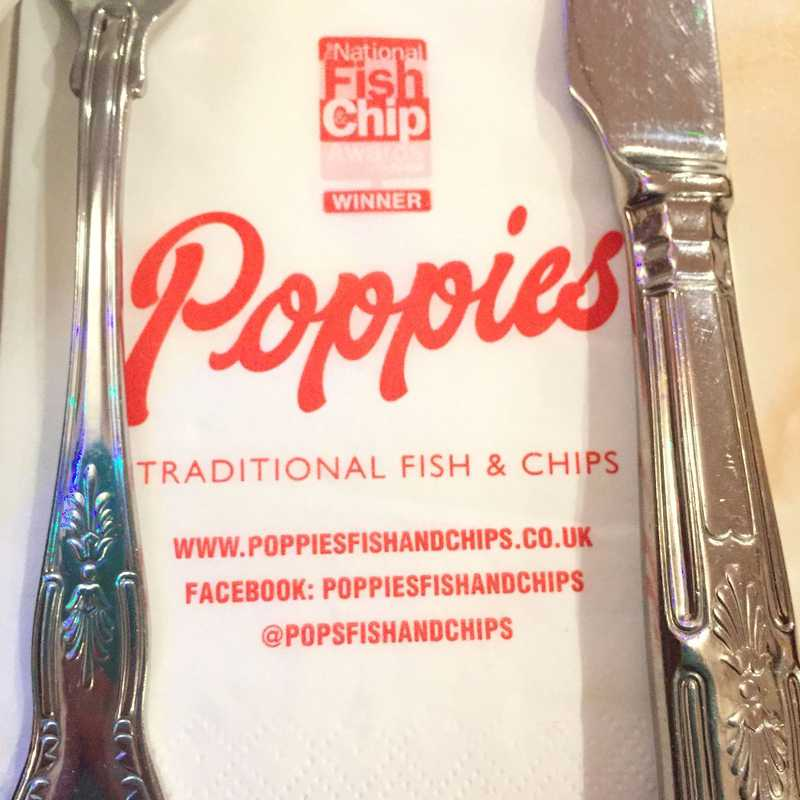 Poppie's Fish & Chips, Soho