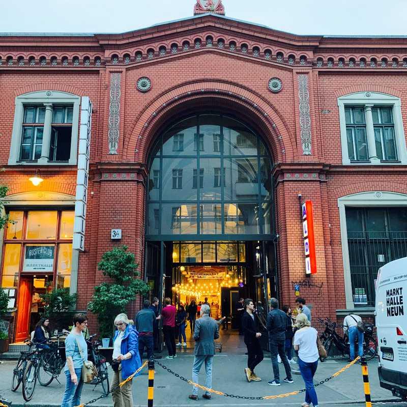 Place / Tourist Attraction: Markthalle Neun (Berlin, Germany)