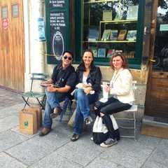 with dear friends, Barbra and Katharina
