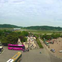 Steam Locomotive at Jangdan Station of the Gyeongui Line