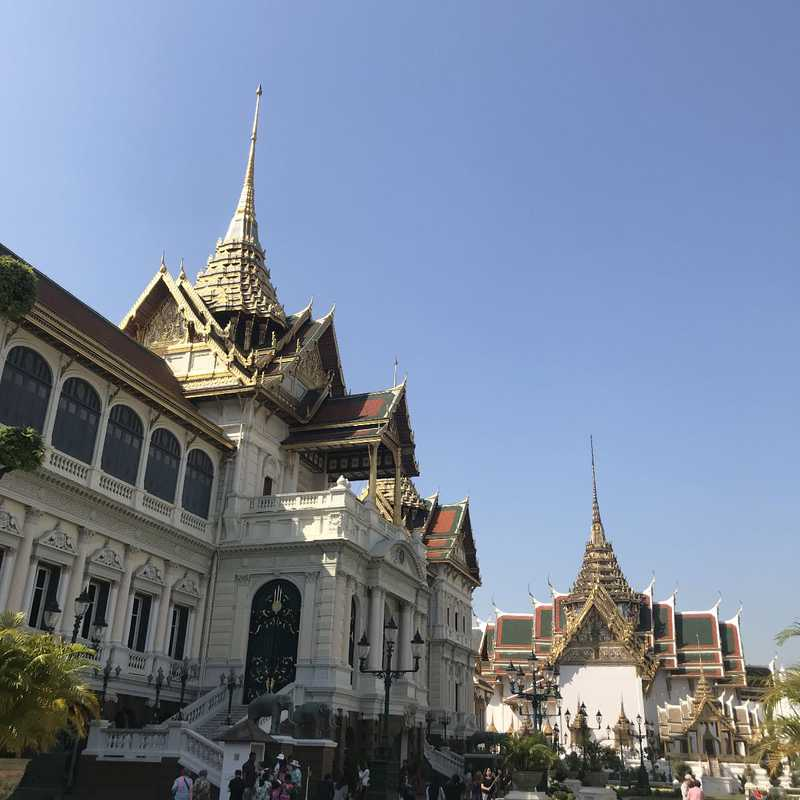 Place / Tourist Attraction: Temple of the Emerald Buddha (Phra Nakhon, Thailand)