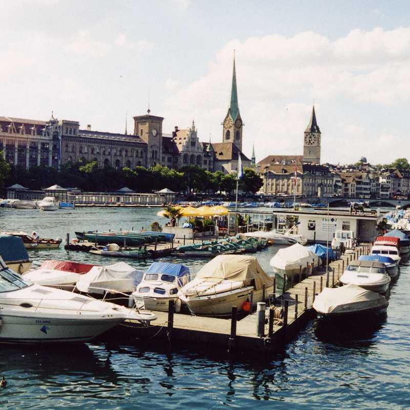 Quaibrücke, Zürich