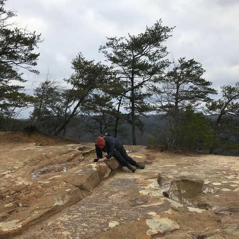 Natural Bridge Rock Feature