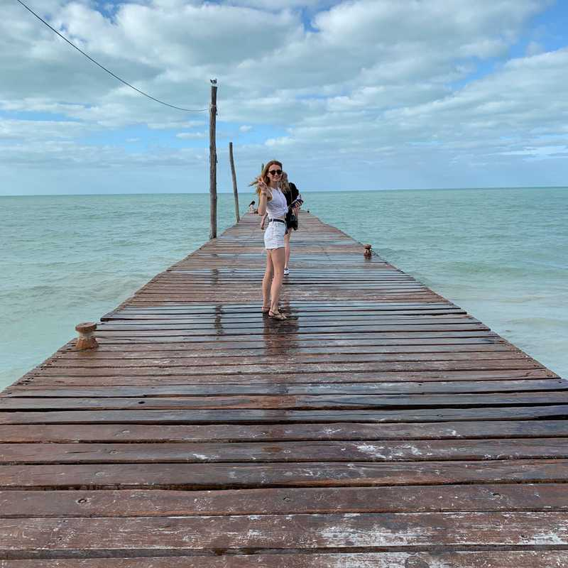 Downtown Holbox