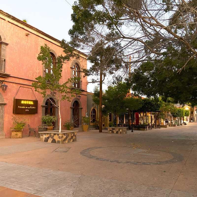 Plaza pública de Loreto