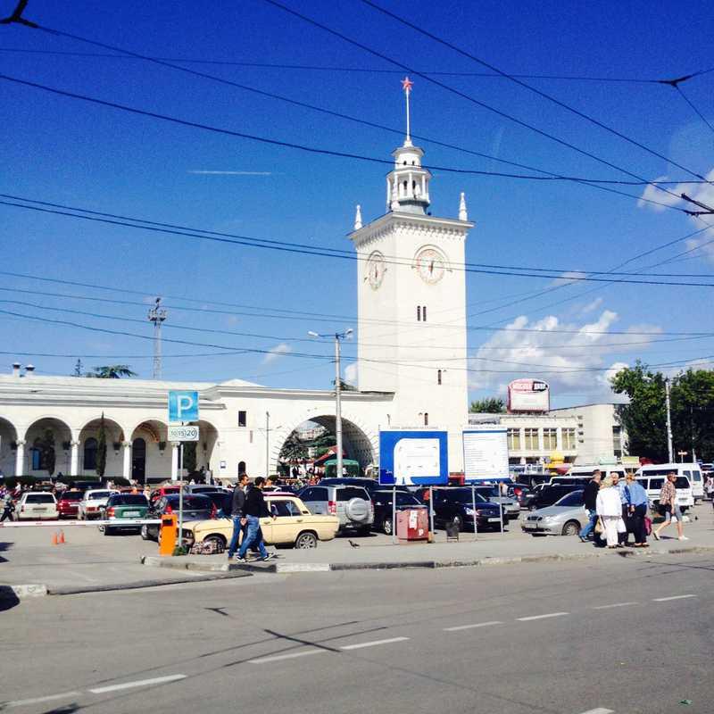 Kurortna Bus Station