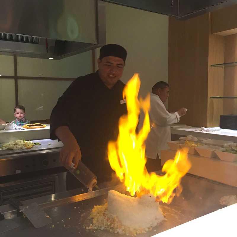 Teppanyaki Dinner at Shoji